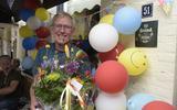 Jan Schepel uit Beilen liep een alternatieve Wandelvierdaagse. 'Er waren zelfs gladiolen, zoals dat hoort na de vierdaagse'