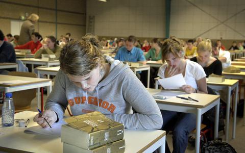 Studenten van de Rijksuniversiteit Groningen.