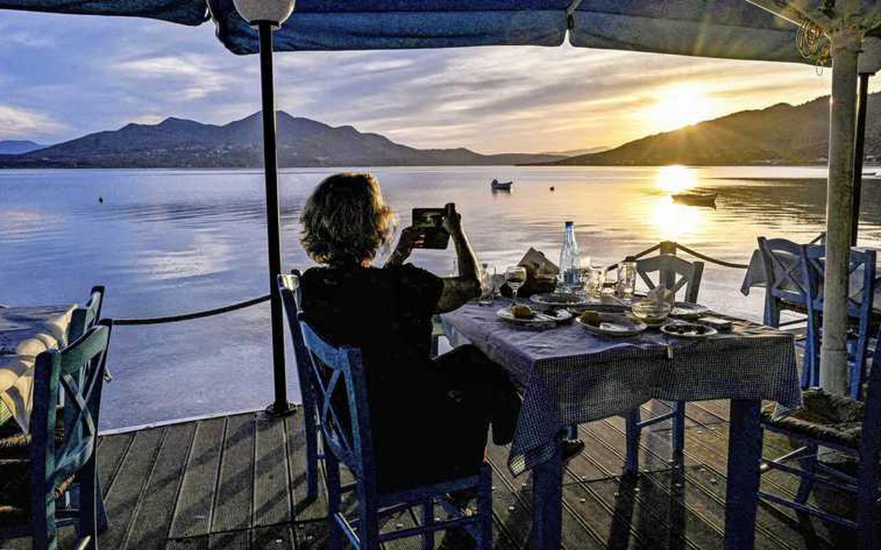 De Griekse eilanden zitten in de kopgroep van 'gele' vakantiebestemmingen.