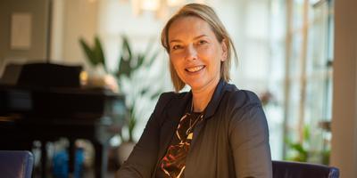 Marijke van der Woude verlaat het CBK in Groningen. Foto CBK