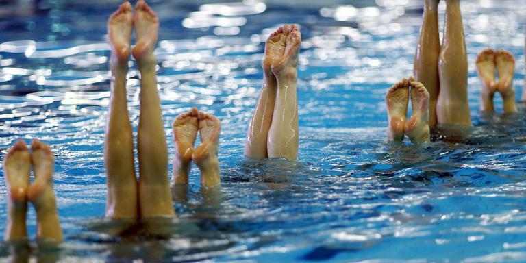 Zwemmen. Foto archief DvhN