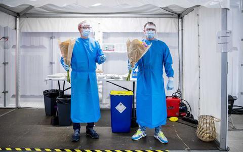 Minder besmettingen en lucht voor ziekenhuizen: tweede coronagolf is op zijn retour, maar 'voor euforie is het te vroeg'