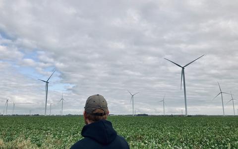 Veendam steunt Midden-Groningen in strijd windmolens Windpark N33