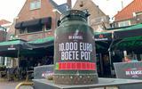 Café De Kansel krijgt coronaboete en haalt de melkbus van zolder (voor donaties)