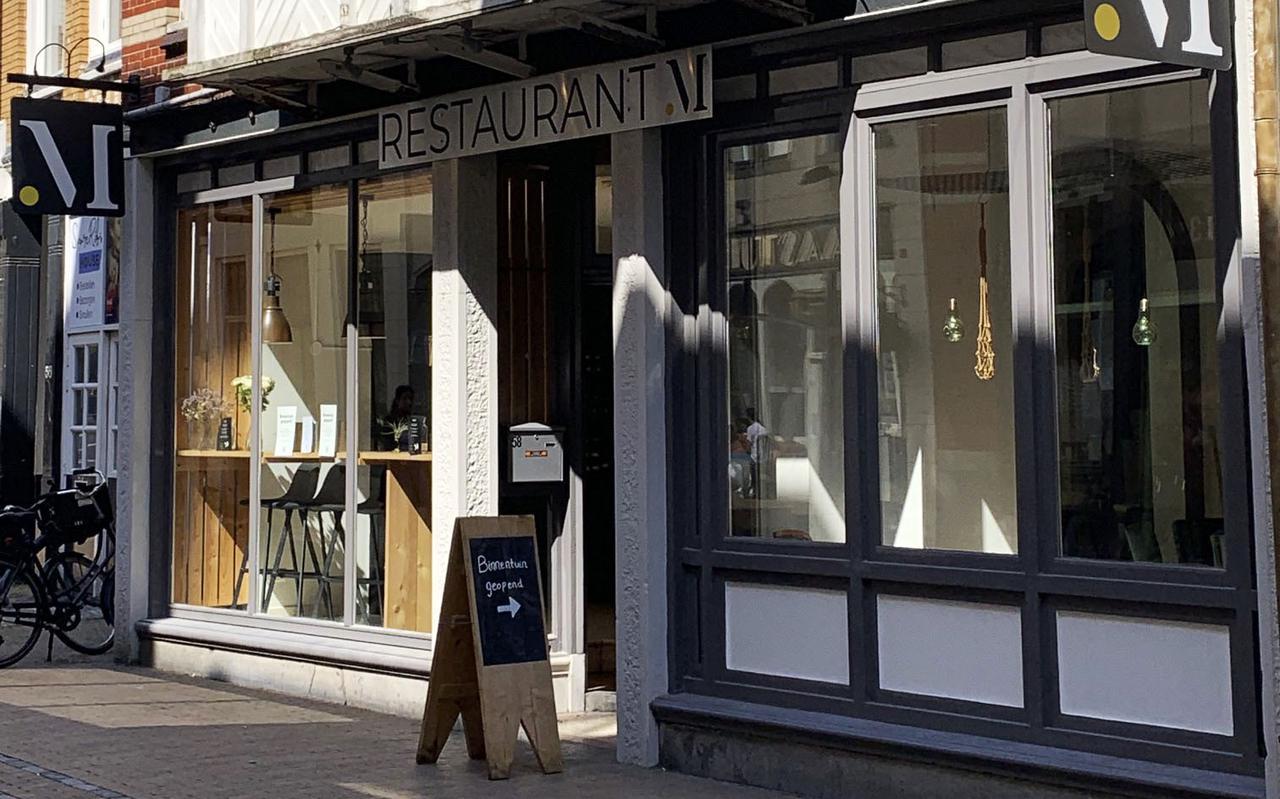 Restaurant M.  in Groningen.