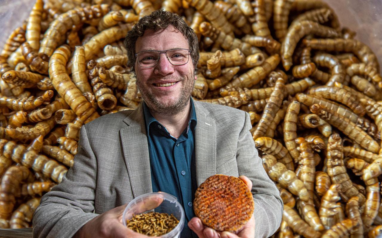 Wouter Simons verwacht dat het verwerken van meelwormen in voedsel een vlucht gaat nemen.
