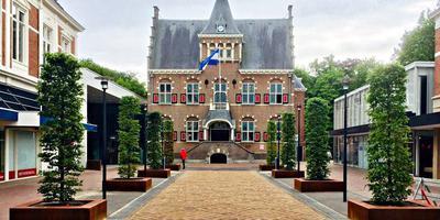 Het gemeentehuis van Veendam.