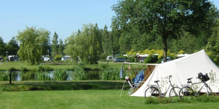 Camping De Drie Provinciën in Een-West genomineerd als mooiste 50-pluscamping. Foto De Drie Provinciën