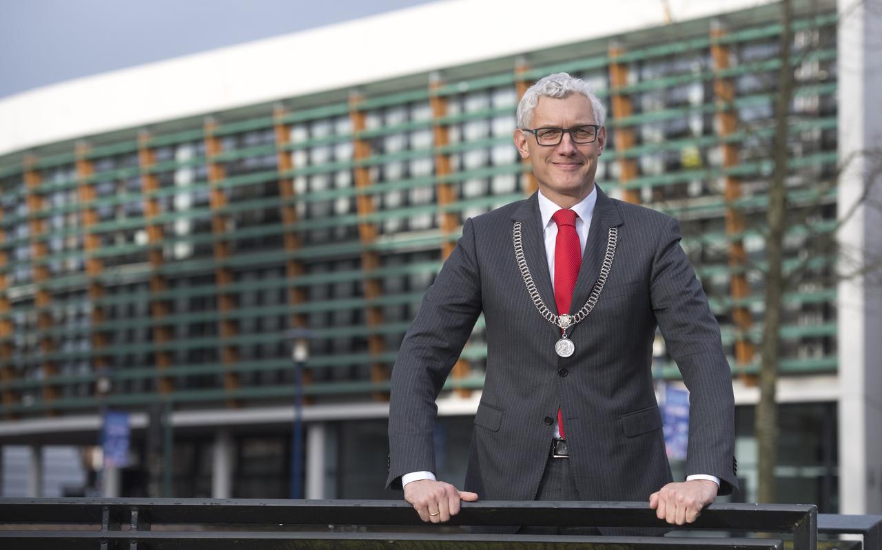 Burgemeester Marco Out, tevens voorzitter van Veiligheidsregio Drenthe.