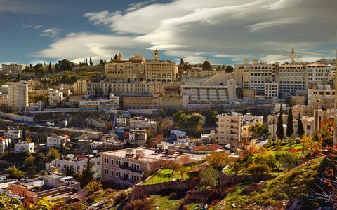 In de stad Bethlehem opende onlangs het hotel met het slechtste uitzicht