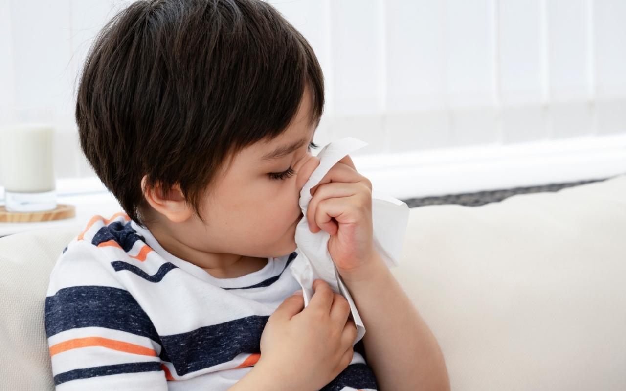 Kinderen die langdurig verkoudheidsklachten hebben, kunnen gewoon naar de kinderopvang of school.