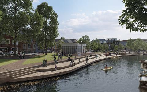 Ook café De Toeter krijgt rol in Groningse plannen met monumentaal Dudok-tankstation