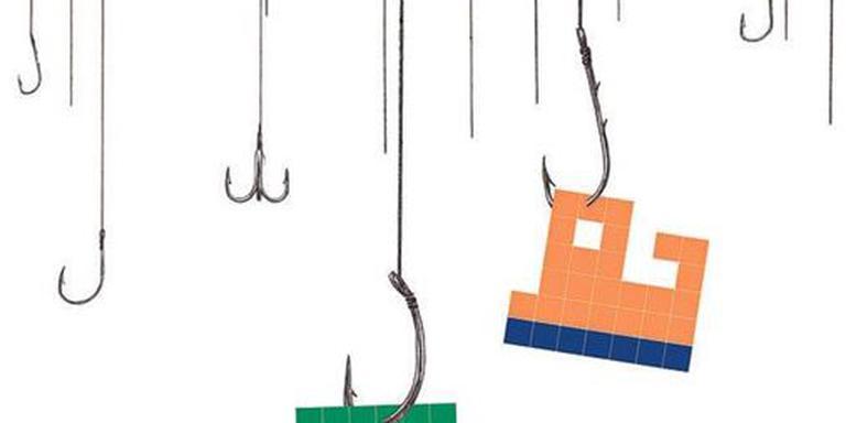 Phishing. Illustratie Annique Viester