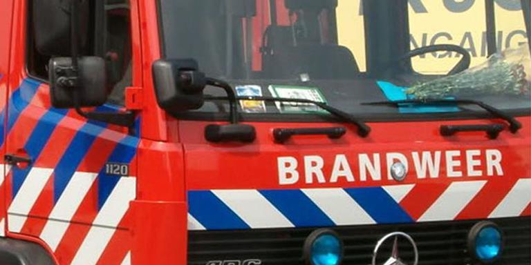 Schuur in Annen door brand verwoest.