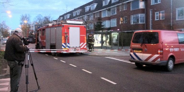 Het pand aan de Friesestraatweg. FOTO JAN ZEEMAN