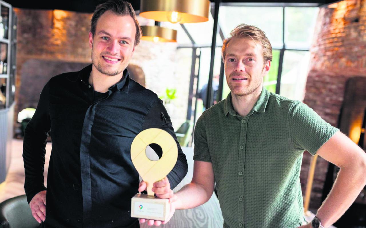 Thijs de Lange en Stefan Hoekstra van Villa Kalkoven.