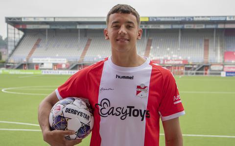 Michel Jansen heeft de wind er aardig onder bij FC Emmen