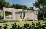 Studenten helpen mee aan de bouw van verplaatsbaar tiny house op waterstof in Hoogeveen