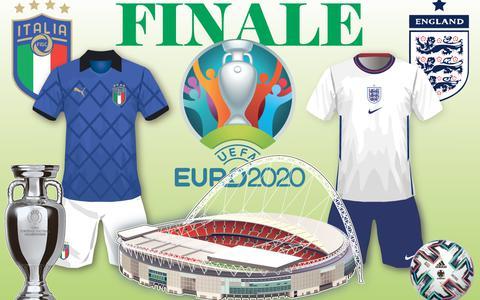 Dé EK-finale tussen Engeland en Italië   In beeld