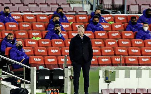 Tal van kopstukken aangehouden: Ronald Koeman steeds meer alleen bij FC Barcelona