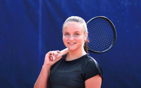 Tennisster Daphne van der Veen van TC Bargeres: 'We staan op de drempel van de eredivisie'