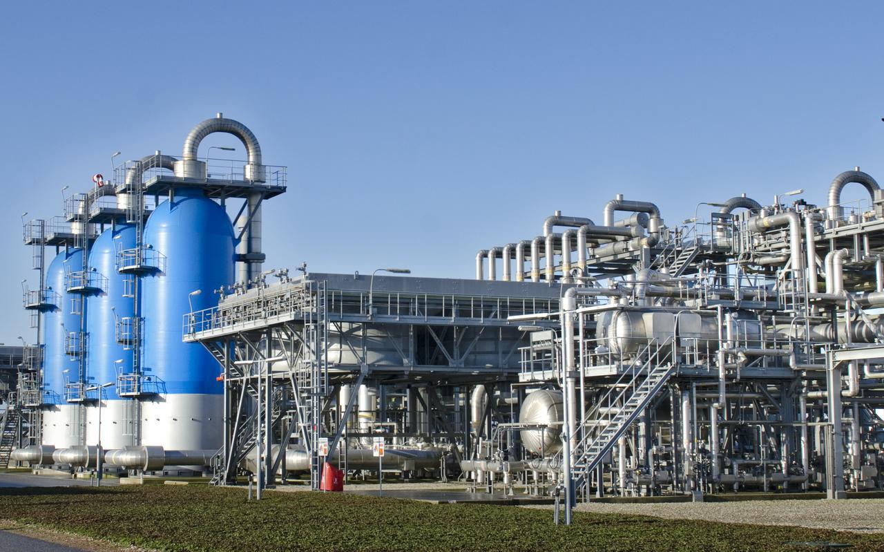De gasopslag bij Langelo. Noord-Nederland beschikt over een uitgebreide infrastructuur voor aardgas. De noordelijke provincies willen dat die ook na het afschaffen van olie en aardgas een rol blijft spelen om Nederland warm en in beweging te houden.