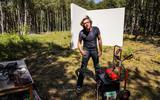 Geluidskunstenaar Bouke Groen uit Tynaarlo vindt op Oerol de elegantie van de natuur