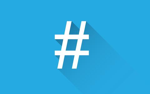 de hashtag bestaat 10 jaar - foto Pixabay