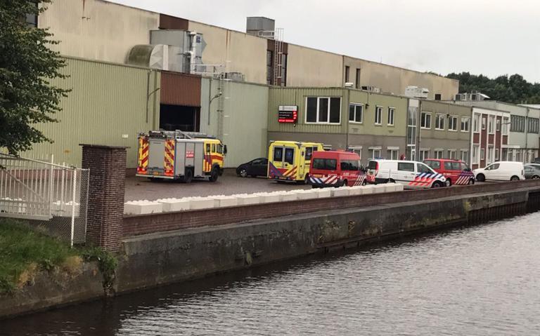 Man gewond bij bedrijfsongeval Bad Nieuweschans