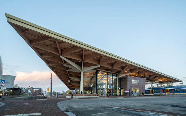 Publieksprijs voor station Assen in Beste Gebouw van Nederland-verkiezing