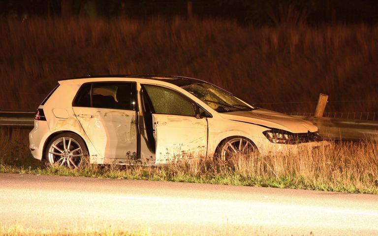 Automobiliste gewond bij botsing in Emmen.