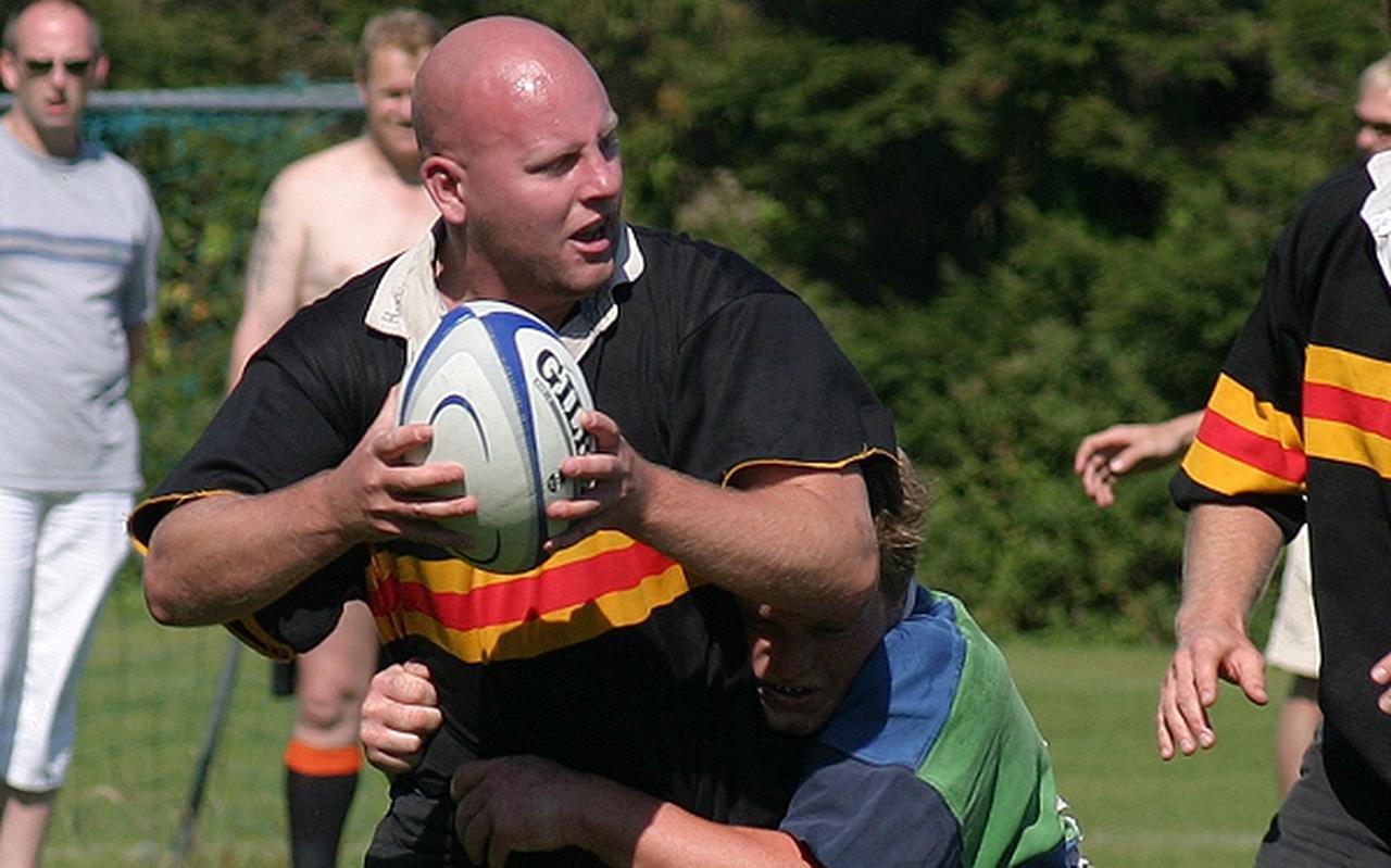 Hardy was een fanatiek lid en speler van Rugby Club Groningen