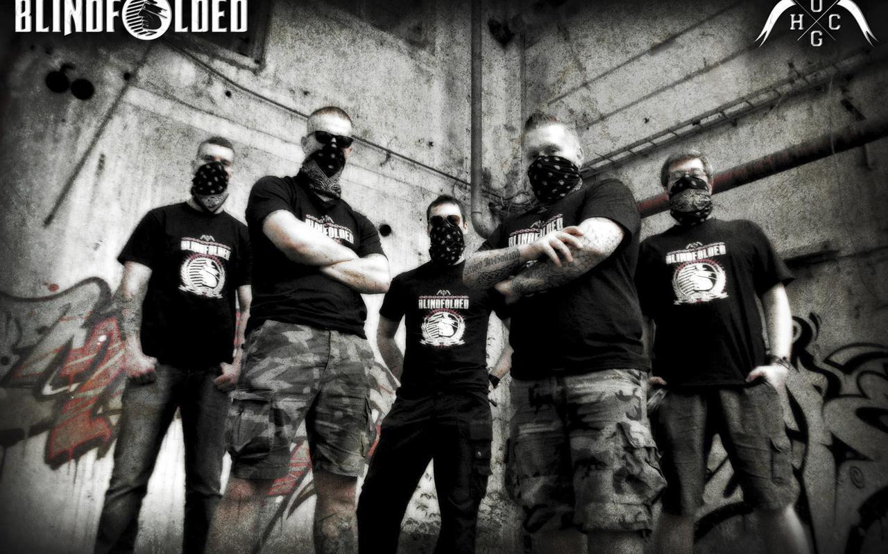 De Groninger band Blindfolded.