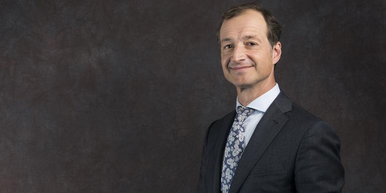 VVD-minister Eric Wiebes van Economische Zaken en Klimaat.