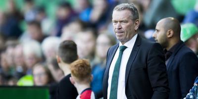 Voormalig algemeen directeur Hans Nijland van FC Groningen.