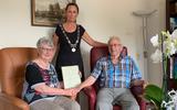 Jacob (90) en Wemmie (83) Beugel vieren diamanten huwelijk: 'Ik ben gewoon op de motor achter haar aan gereden'