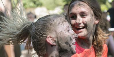 Caveman Challenge in Emmen. Foto DvhN/Frank Jeuring