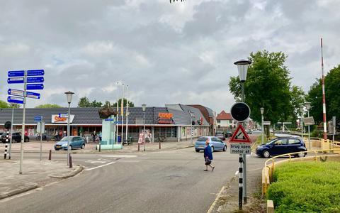 Het kruispunt in Wildervank.