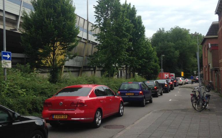 Eerste chaos ringweg Groningen