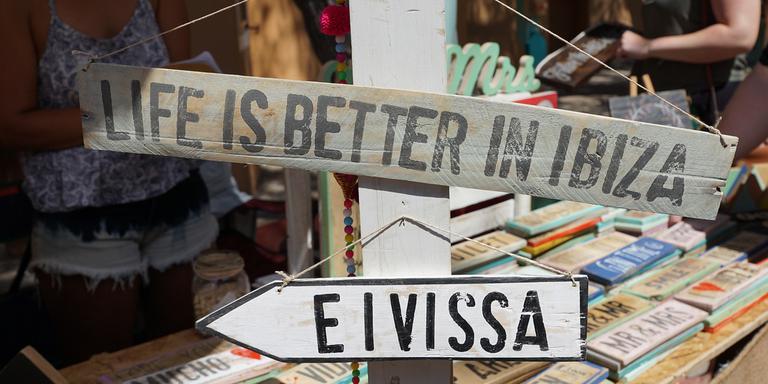 'Het leven is beter op Ibiza'