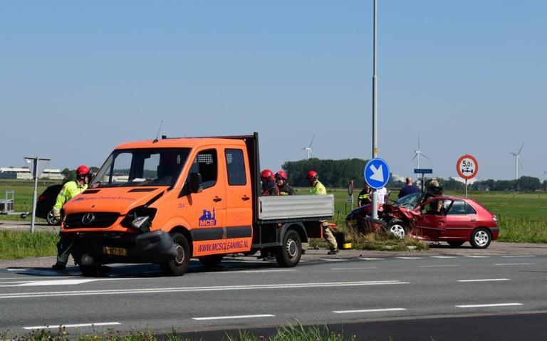 Vrouw gewond bij verkeersongeval op N362.