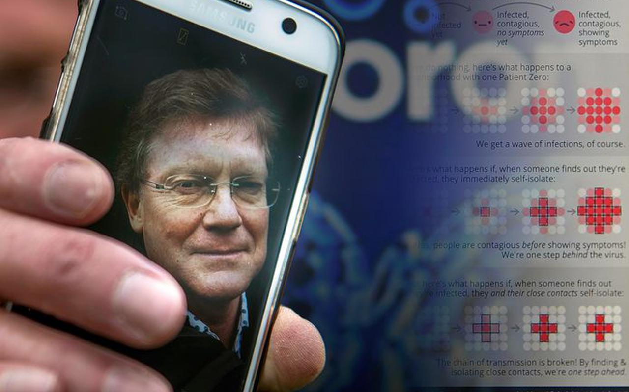 Bluetooth-uitvinder Jaap Haartsen.