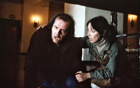 The Shining met Jack Nicholson en Shelley Duvall.