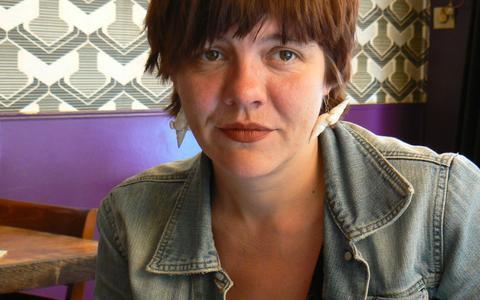 Kunstenaarsmodel Nici Graumann in 2009.