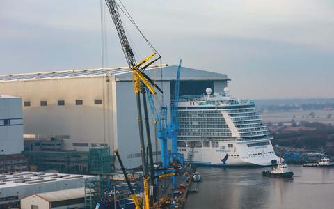 Krijgt de Meyer Werft dan toch steun vanuit Berlijn en Hannover?