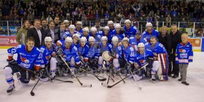 Heerenveen Unis Flyers wint de Ron Bertelingschaal. Foto: Anp/Andre Weening