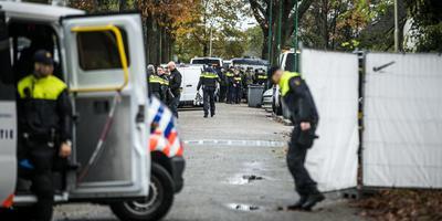 Bij de invallen vorige maand op een woonwagenkamp in Oss werd ook de noordelijke politie ingezet.