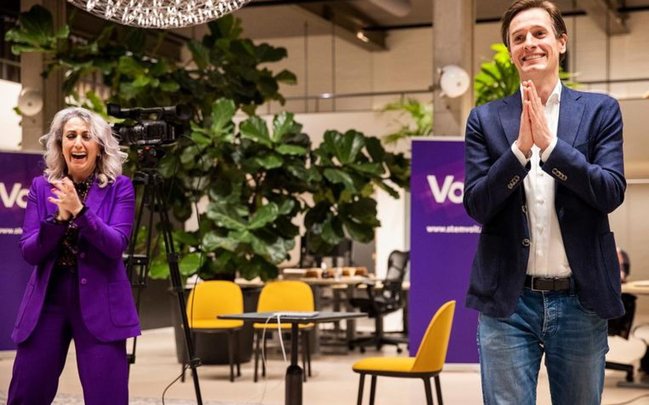 In maart haalde Volt drie zetels in de Tweede Kamer. Volgend jaar hoopt de partij op twee gemeenteraadszetels in Groningen.