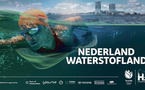 Olympische topsporters gaan namens Nederland op missie voor groene waterstof