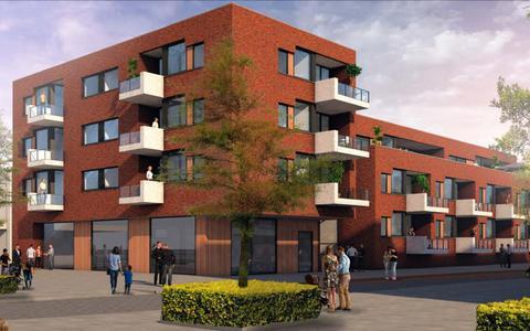 Trambrug, nieuwbouw bij een historische plek in het centrum van Klazienaveen
